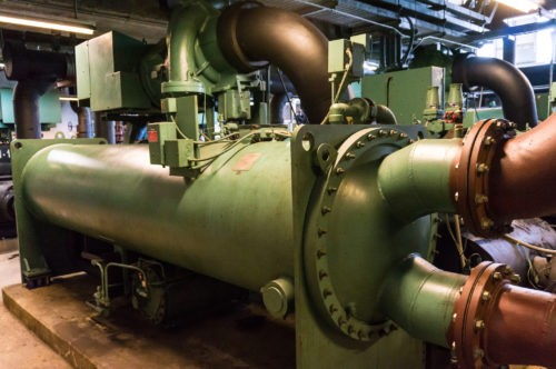 A picture of chillers for Water Treatment for Industries