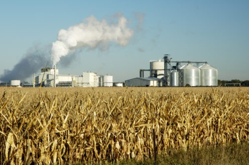 A picture of Water Treatment for Industries ethanol corn